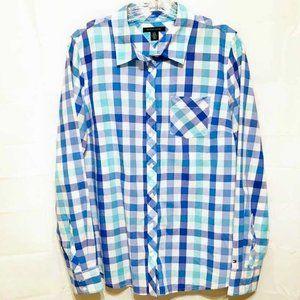 Tommy Hilfiger Checkered Button Down Shirt